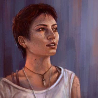 portret krita kurs
