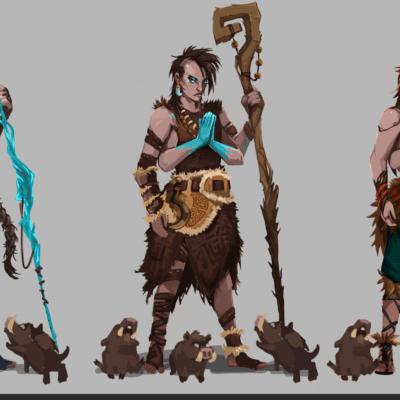 projektowanie postaci do gier krita